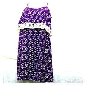 Dresses & Skirts - Vtg Fresh Tart tassel Fringe Dress